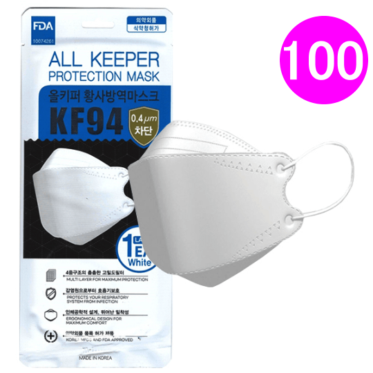 all keeper kf94 mask